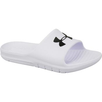 Schoenen Heren slippers Under Armour Core PTH Slides Blanc
