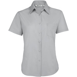 Textiel Dames Overhemden Sols ESCAPE POPELIN WOMEN Gris