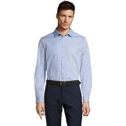Textiel Heren Overhemden lange mouwen Sols BRODY WORKER MEN Azul