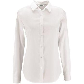 Textiel Dames Overhemden Sols BRODY WORKER WOMEN Blanco