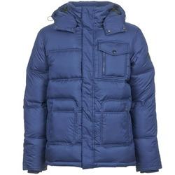 Textiel Heren Dons gevoerde jassen Wrangler THE GUARD Blauw