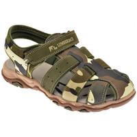 Schoenen Jongens Sandalen / Open schoenen Lumberjack  Groen