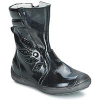 Schoenen Meisjes Hoge laarzen GBB LIVIANA Zwart