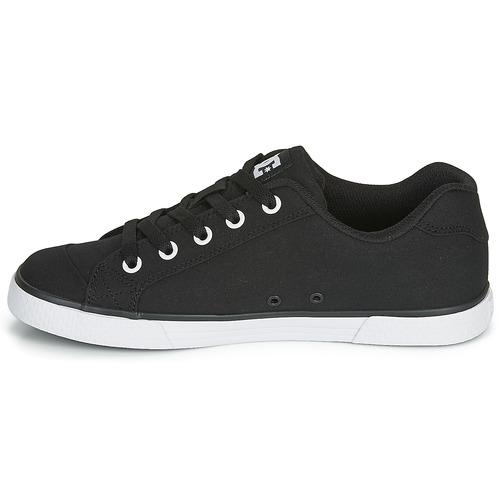 Schoenen KJKHGDsdgjdiJKJHM  DC Shoes CHELSEA TX Zwart / Wit