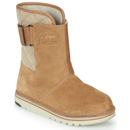 Schoenen Dames Laarzen Sorel NEWBIE Bruin