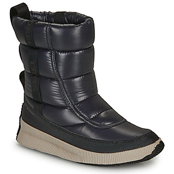 Schoenen Dames Snowboots Sorel OUT N ABOUT PUFFY MID Zwart