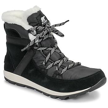 Schoenen Dames Laarzen Sorel WHITNEY FLURRY Zwart