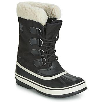 Schoenen Dames Snowboots Sorel WINTER CARNIVAL Zwart