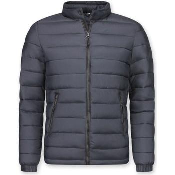Textiel Heren Dons gevoerde jassen Enos Winterjassen - Winterjas Kort - Down Jack - Zwart