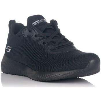 Schoenen Dames Lage sneakers Skechers BOBS SPORT SQUAD - TOUGH TALK Zwart