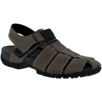 Schoenen Heren Sandalen / Open schoenen Mephisto BASILE leer grijs