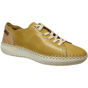 Schoenen Dames Derby Pikolinos W0y-6836 Geel leer