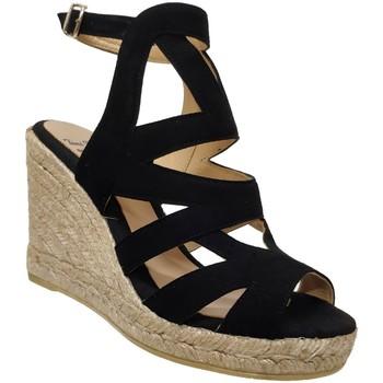 Schoenen Dames Sandalen / Open schoenen Toni Pons Mirna Velvet zwart