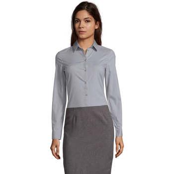 Textiel Dames Overhemden Sols BLAKE MODERN WOMEN Gris