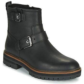 Schoenen Dames Laarzen Timberland LONDON SQUARE BIKER Zwart
