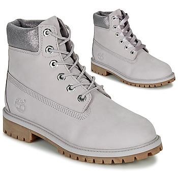 Schoenen Kinderen Laarzen Timberland 6 IN PREMIUM WP BOOT Grijs