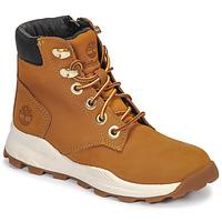 Schoenen Kinderen Hoge sneakers Timberland BROOKLYN SNEAKER BOOT Bruin