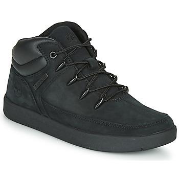 Schoenen Kinderen Hoge sneakers Timberland DAVIS SQUARE TDEUROSPRINT Zwart