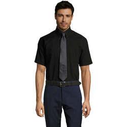 Textiel Heren Overhemden korte mouwen Sols BRISBANE ORIGINAL WORK Negro