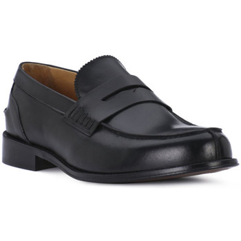 Schoenen Heren Mocassins Exton VITELLO NERO Nero