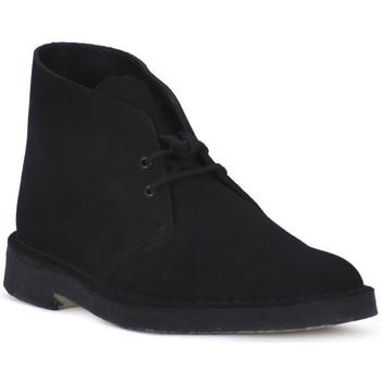 Schoenen Laarzen Clarks DESERT BOOT BLK Nero