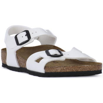 Schoenen Jongens Sandalen / Open schoenen Birkenstock RIO WHITE Bianco