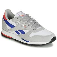 Schoenen Lage sneakers Reebok Classic CL LEATHER MU Grijs / Blauw