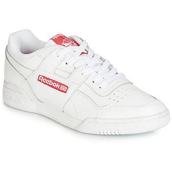 Schoenen Lage sneakers Reebok Classic WORKOUT PLUS MU Wit / Rood