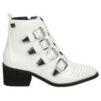 Schoenen Dames Enkellaarzen Coolway Enkellaarsjes  juno jonge mode-wit Blanc