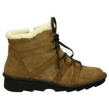 Schoenen Dames Snowboots Relaxshoe Enkellaarsjes  377-019 lady brown Marron