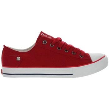 Schoenen Dames Lage sneakers Big Star DD274339 Rood