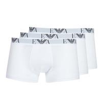 Ondergoed Heren Boxershorts Emporio Armani CC715-PACK DE 3 Wit