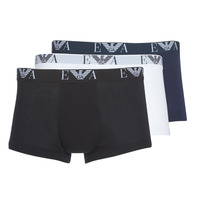 Ondergoed Heren Boxershorts Emporio Armani CC715-111357-56110 Wit / Zwart / Marine