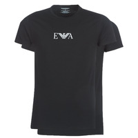 Textiel Heren T-shirts korte mouwen Emporio Armani CC715-111267-07320 Zwart