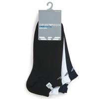 Accessoires Heren Sokken Emporio Armani CC134-300008-00997 Wit / Zwart / Marine