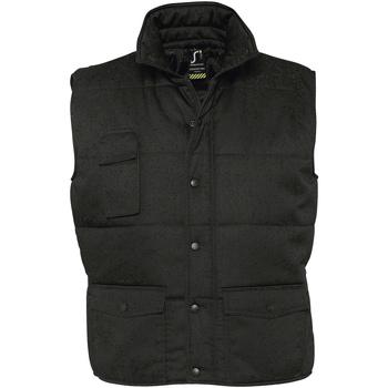 Textiel Heren Dons gevoerde jassen Sols EQUINOX PRO WORKS Negro