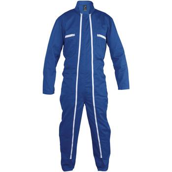 Textiel Jumpsuites / Tuinbroeken Sols JUPITER PRO MULTI WORK Azul