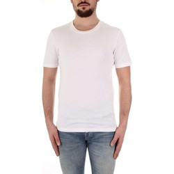 Textiel Heren T-shirts korte mouwen Selected 16057141 Bianco