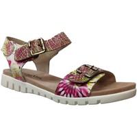 Schoenen Dames Sandalen / Open schoenen Laura Vita Dobby 03 Roze / geel