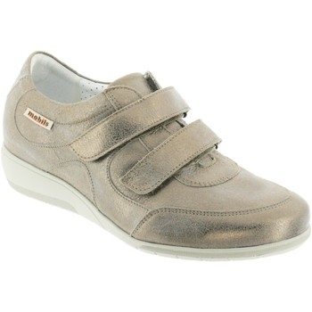 Schoenen Dames Mocassins Mobils By Mephisto JENNA Taupe leer