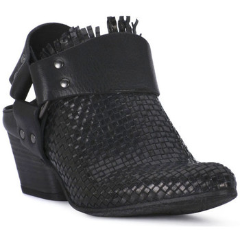 Schoenen Dames Low boots Juice Shoes INTRECCIATO NERO Nero