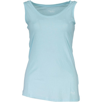 Textiel Dames Mouwloze tops Liu Jo WXX018 JB231-1 light blue 34413