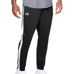 Textiel Heren Trainingsbroeken Under Armour Sportstyle Pique Track Pant Schwarz