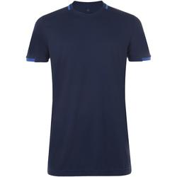 Textiel Heren T-shirts korte mouwen Sols CLASSICO SPORT Azul