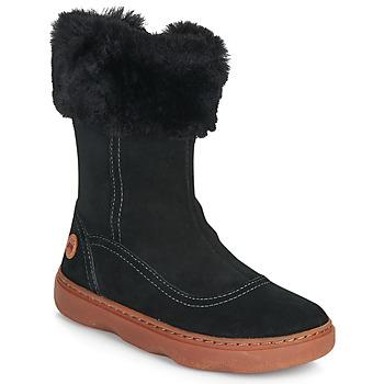 Schoenen Meisjes Hoge laarzen Camper KIDDO Zwart