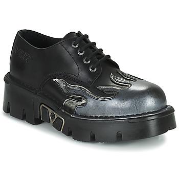 Schoenen Heren Derby New Rock M-1553-C3 Zwart