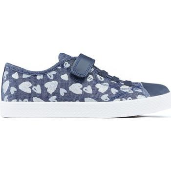 Schoenen Kinderen Lage sneakers Geox JR CIAK-schoenen BLAUW