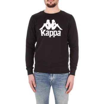 Textiel Heren Sweaters / Sweatshirts Kappa 303WIV0 Nero/bianco