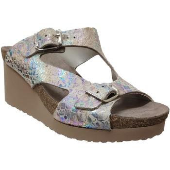 Schoenen Dames Leren slippers Mephisto Terie Meerkleurig beige
