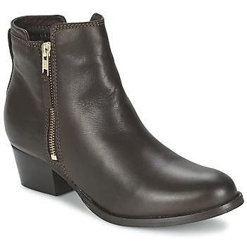 Schoenen Dames Laarzen Shoe Biz ROVELLA Bruin